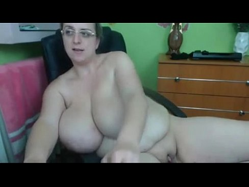 Real amateur old chubby mother