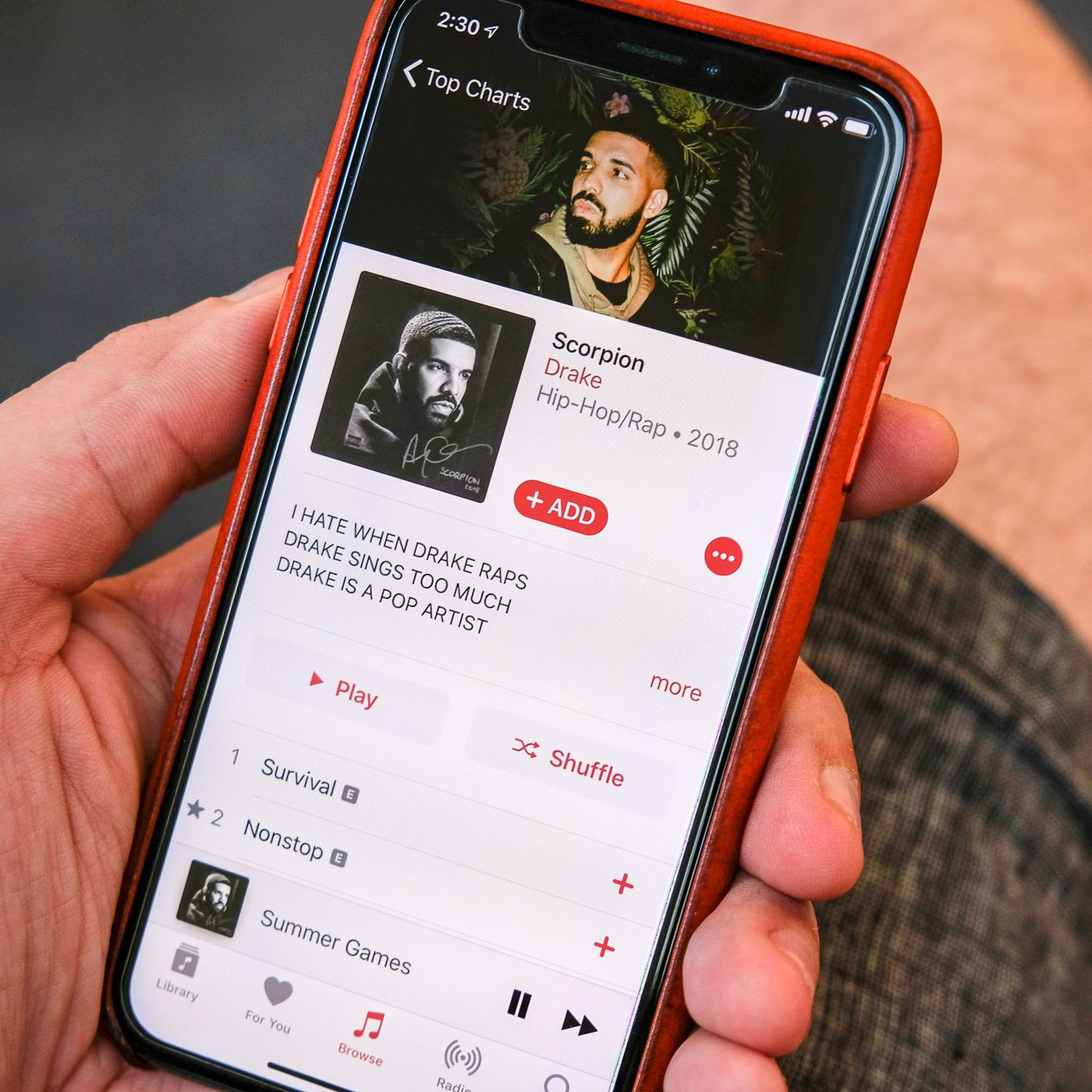 Apple music didn t transfer to new iphone