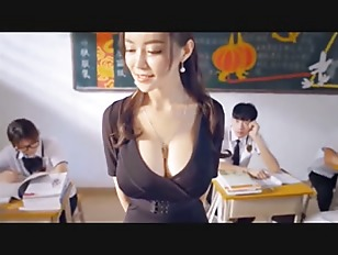 Busty chinese tube