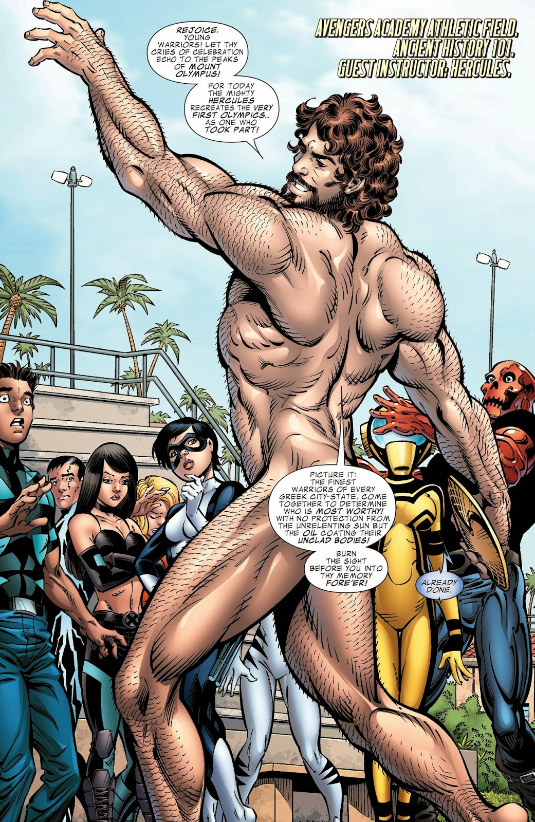Naked superhero pictures