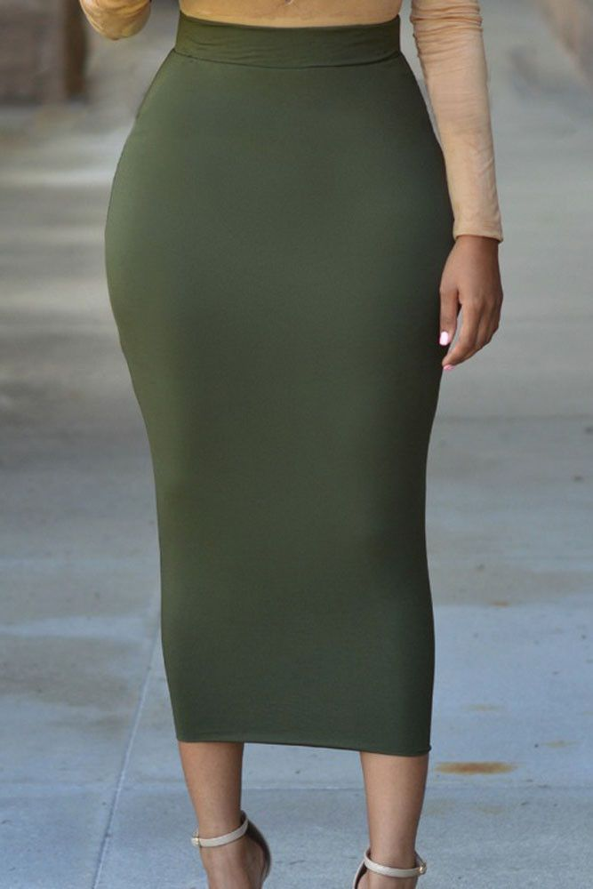 Sexy women in spandex skirts