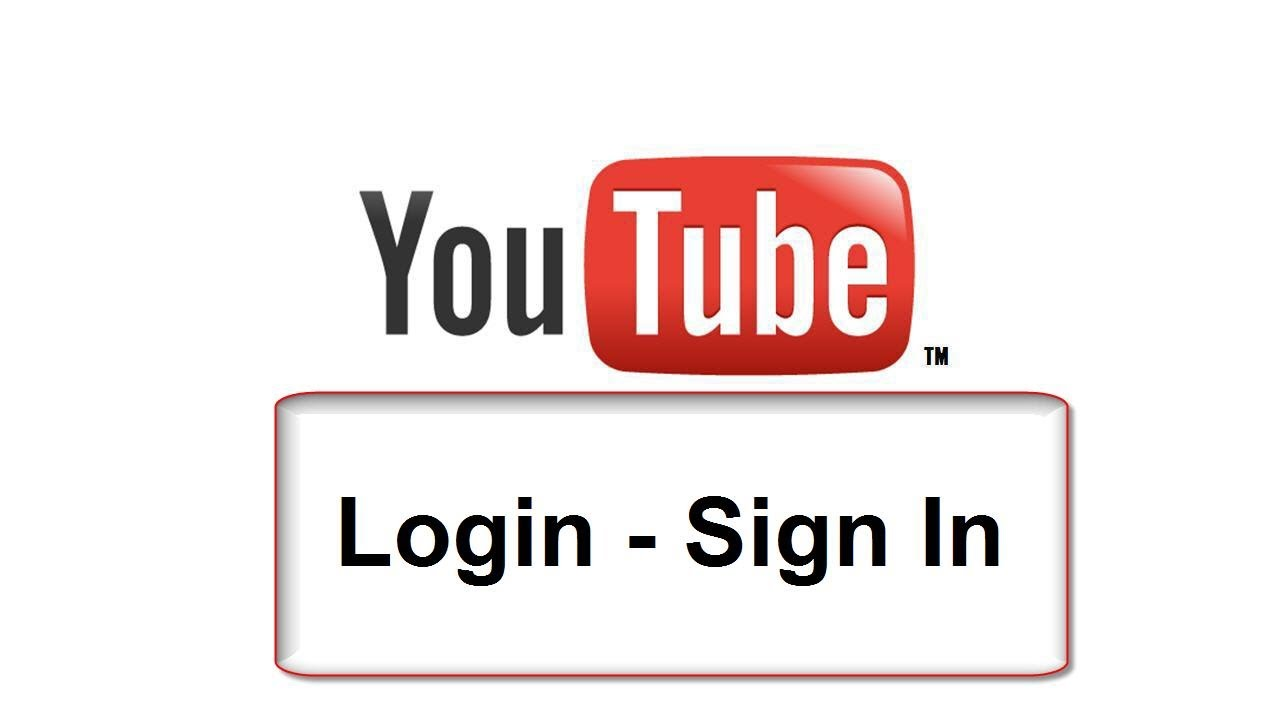 Youtube sign in